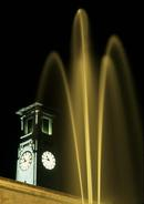 Civic Clock at Night